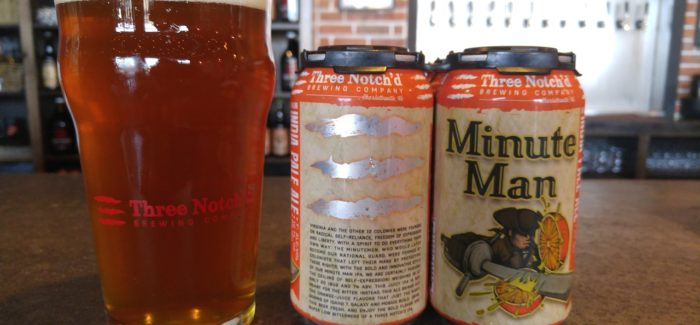 Three Notch'd Brewing Company | Minute Man New England Style IPA