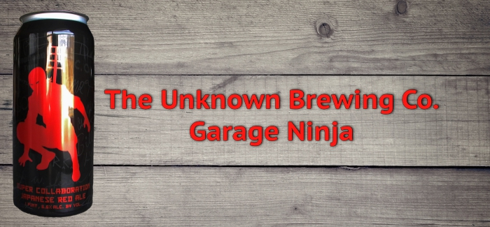 The Unknown Brewing Co. Releases Garage Ninja Homebrew Collaboration