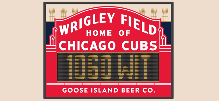Goose Island to Release a Collaboration Beer with Wrigley Field