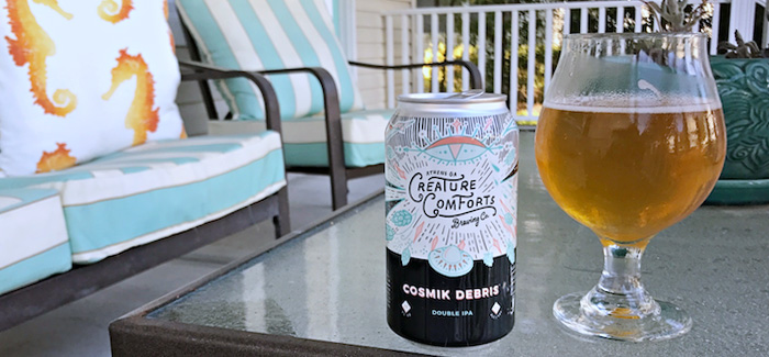 Creature Comforts Brewing Co. Cosmik Debris