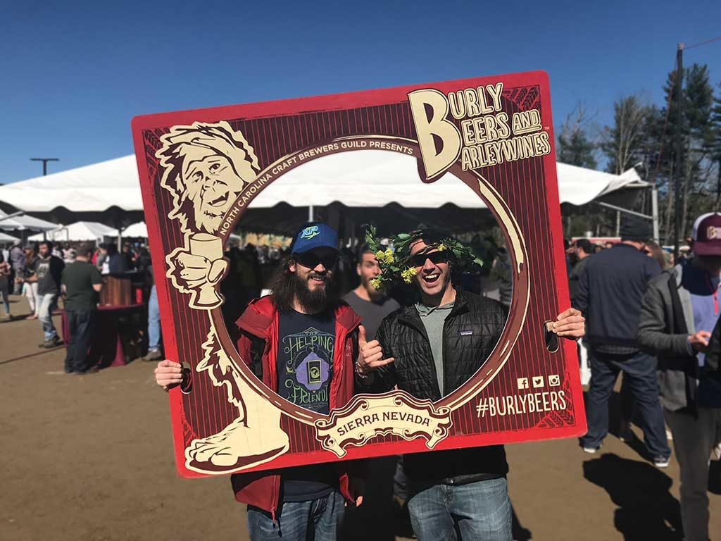 Sierra Nevada Brewing Co. North Carolina Burly Beer Fest