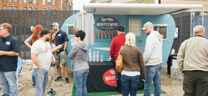 Warped Wing Brewing Co. | Trotwood Lager