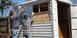 Beer Shed Building: Watch These Two Guys Refurbish an Old Shed into an Awesome Backyard Beer Getaway