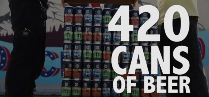 Waking and Baking News   Declaration Brewing 420 Pack of Beer Is Actually a Thing