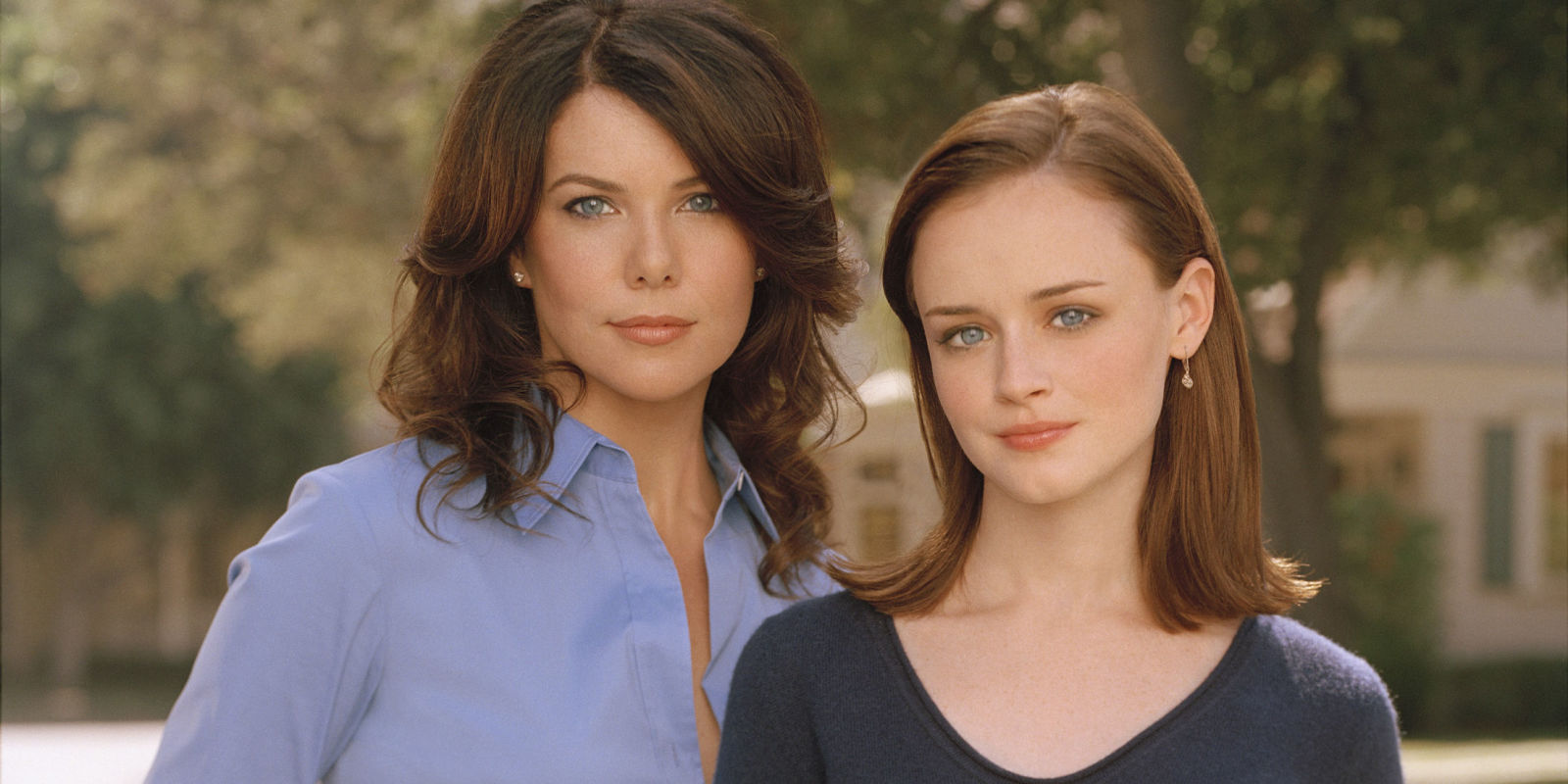 Lauren Graham and Alexis Bledel, who star as Lorelei Gilmore and Rory Gilmore, respectively.