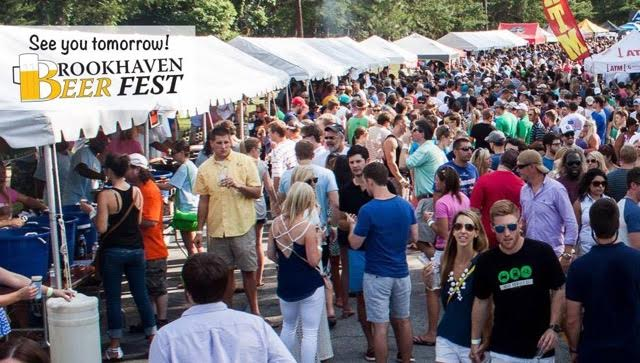 Crowd at Brookhaven Beer Fest