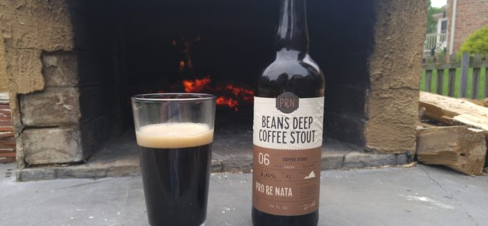 Pro Re Nata Farm Brewery | Beans Deep Coffee Stout