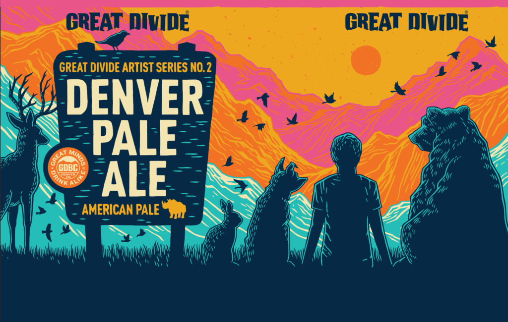 Great Divide Denver Pale Ale Artist Series