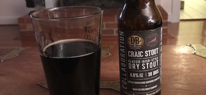 Devils Backbone + Mad Fox | Craic Stout