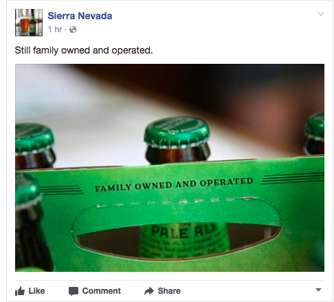 Sierra Nevada Independently Owned