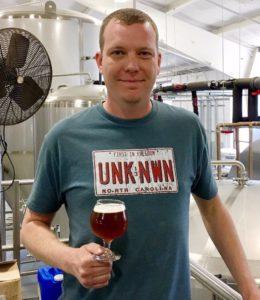 Chris Wertman Head Brewer The Unknown Brewing Co.