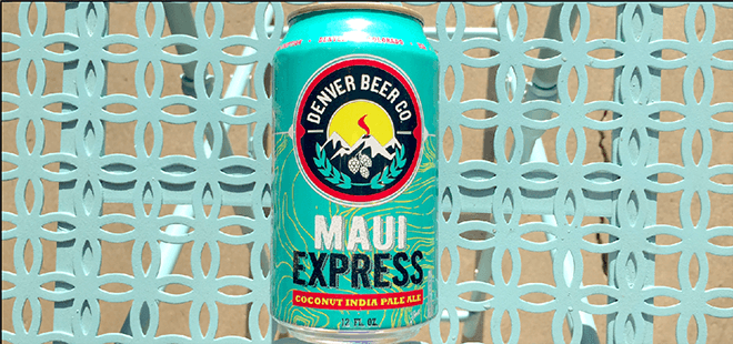 Denver Beer Co. | Maui Express Coconut IPA