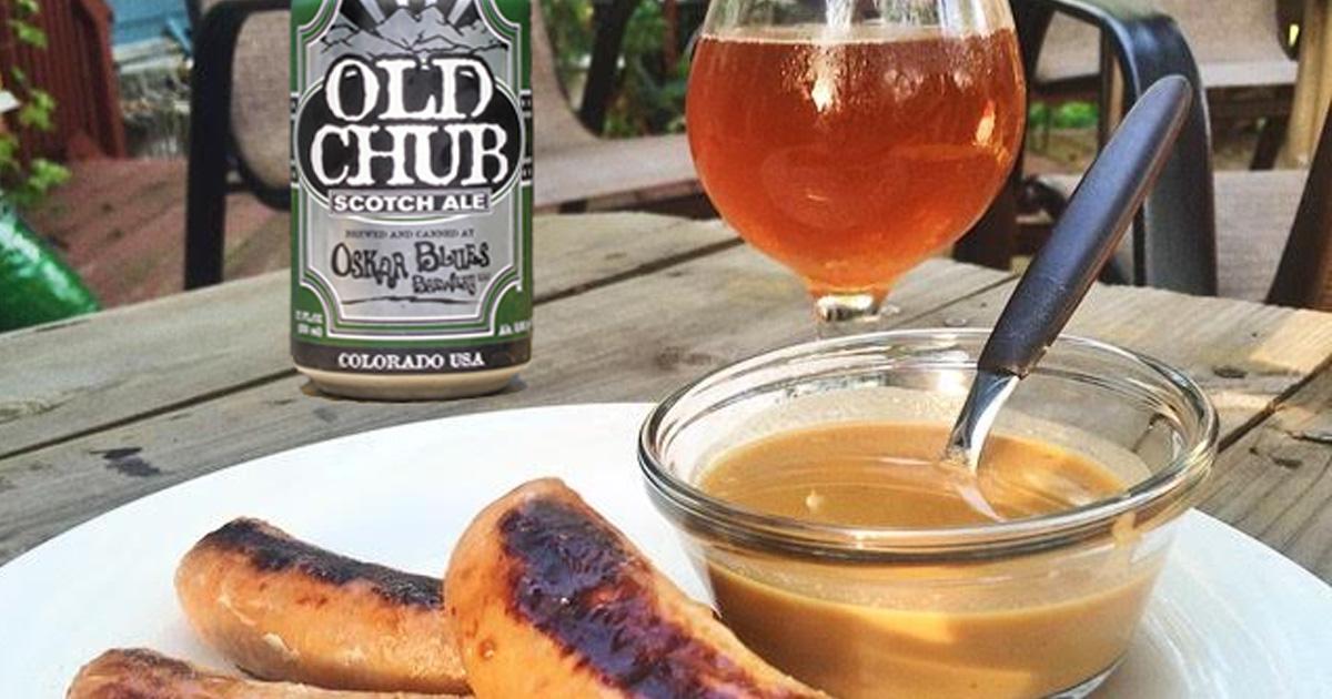 Spicy Honey Beer Mustard Dipping Sauce with Oskar Blue's ...