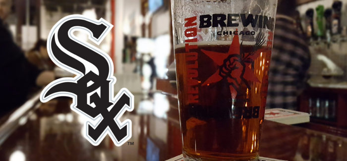 Chicago White Sox Partner with Revolution Brewing and a Tour of the Craft Kave