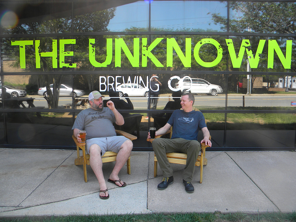 The Unknown Brewing Co. Brad Shell Chris Wertman
