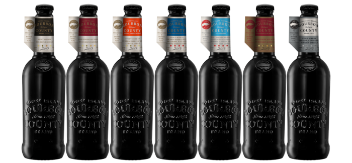 Goose Island Announces 2017 Bourbon County Stout Variants