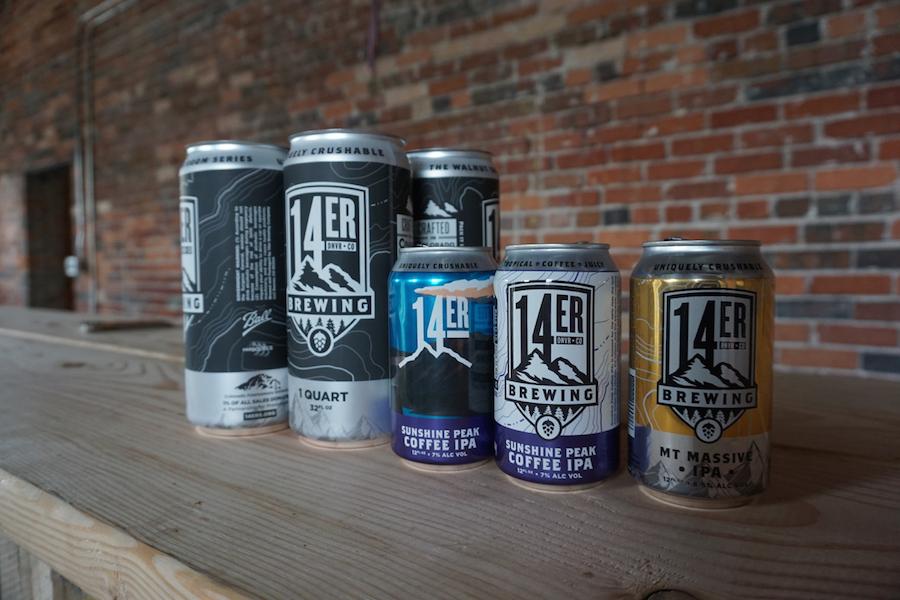 14er Brewing Beers
