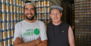 14er Brewing Founders Andrew Kaczmarek and Nato Francescano