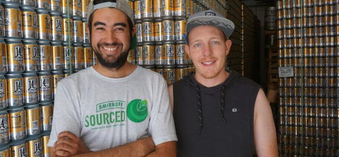 14er Brewing Founders Andrew Kaczmarek and Nato Francescano