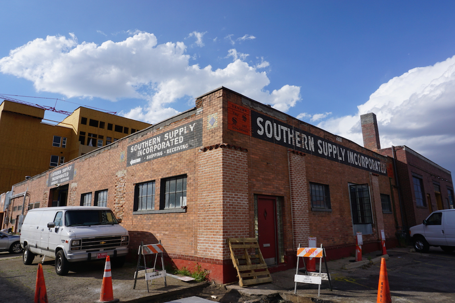 14er Brewing's future taproom and brewhouse location in RiNo