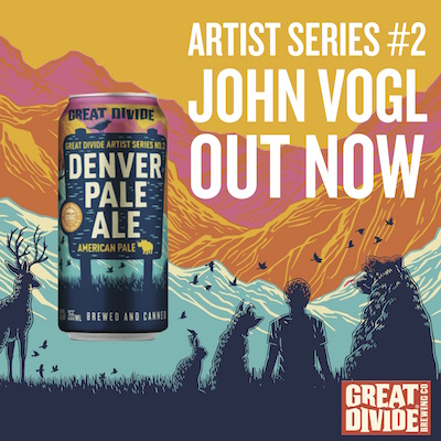 Great Divide Denver Pale Ale Artist Series Ad