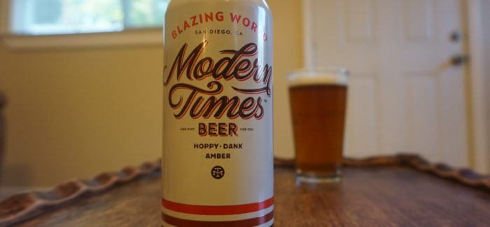 Modern Times Beer | Blazing World