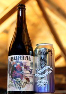 Burial Beer Co. Beer Release Seasoned Skillet A Paranormal Vibe DIPA
