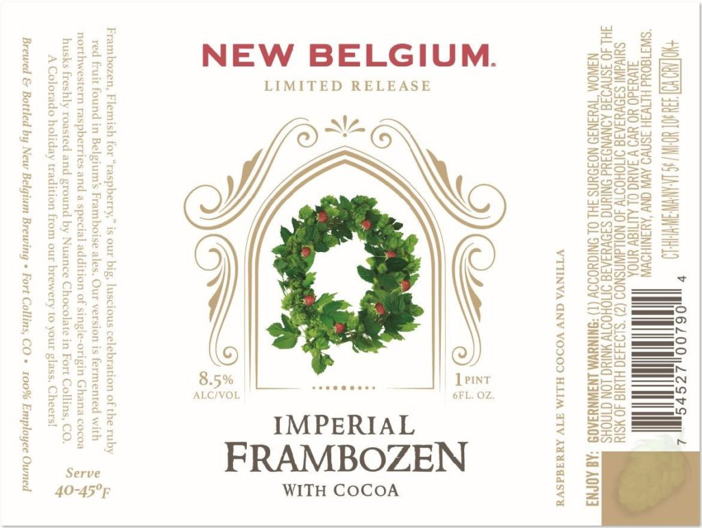 imperial frambozen with cocoa