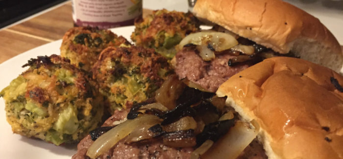 Cooking With Beer | Stuffed Burgers made with Dogfish Head Namaste White