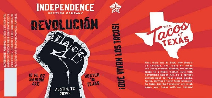 Let's Start a 'Revolución' | An Austin Brewery Made A Beer to Pair with Tacos