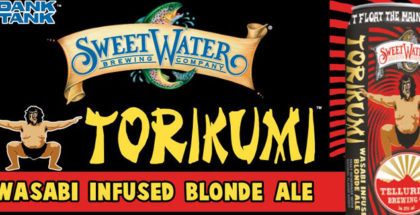 SweetWater Brewing Torikumi Dank Tank wasabi infused blonde ale