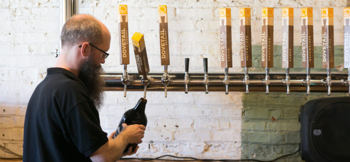 Dovetail Brewery Celebrates One Year of Business Plus Other News