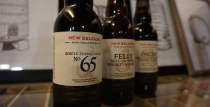 New Belgium Wood Cellar Reserve Series