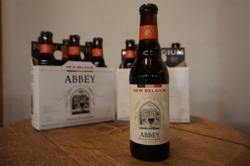 New Belgium Abbey Dubbel Label