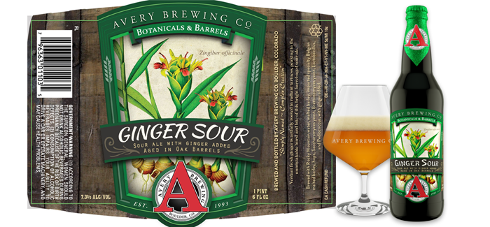 Beer Showcase | Avery Brewing Ginger Sour
