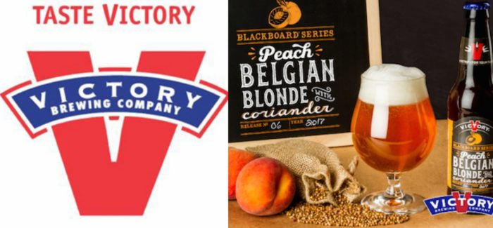 Victory Brewing Co. | Blackboard No. 06 – Peach Belgian Blonde with Coriander