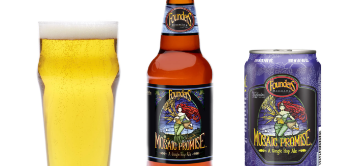 Founders Brewing Releases Mosaic Promise in 15-packs