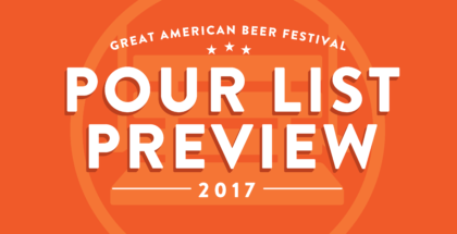 GABF 2017 Pour List Preview