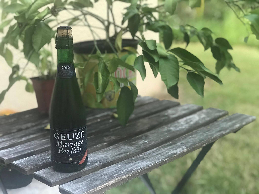 Mariage Parfait Geuze Black Project Spontaneous & Wild Ales effrey Stuffings from Jester King, Pierre Tilquin from Gueuzerie Tilquin, Werner van Obberghen from 3 Fonteinen, and Frank Boon from Brouwerij Boon Méthode Traditionelle - 3 Year Blend Méthode Gueuze Méthode Lambic