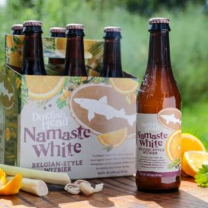 Dogfish Head Brewery | Namaste White Belgian-Style Witbier