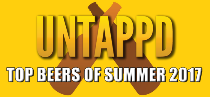 Untappd Reveals Top Beers of Summer 2017