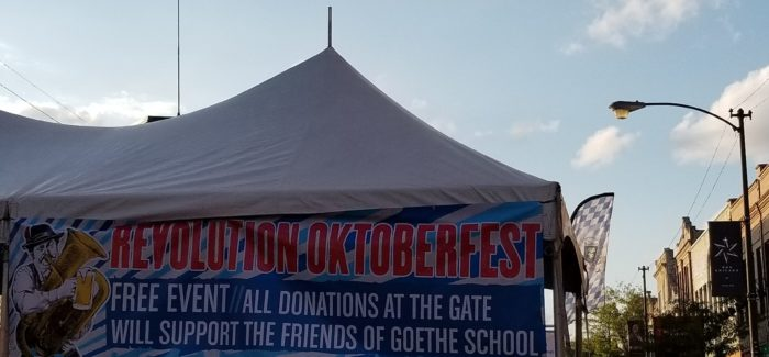 3 Highlights from Revolution Brewing's First Outdoor Oktoberfest