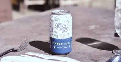 Creature Comforts Brewing Co. Table Beer