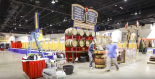 Avery Brewing Time-Lapse of GABF Booth Setup