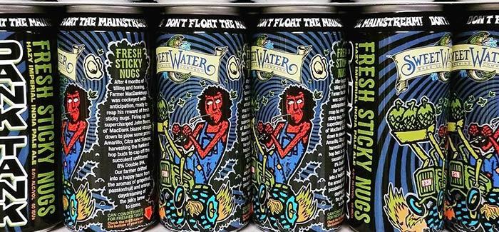 SweetWater Brewing Co. Dank Tank Fresh Sticky Nugs Dank
