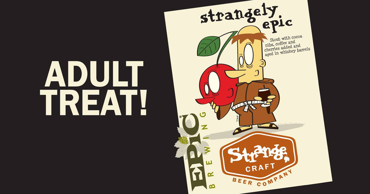 Strange craft beer co epic brewing strangely epic for Strange craft beer company