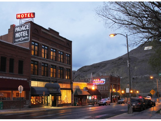 Salida Chaffee County Colorado Palace Hotel