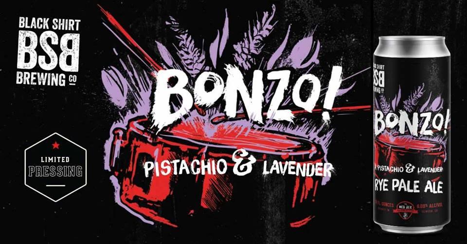 bonzo black shirt brewing