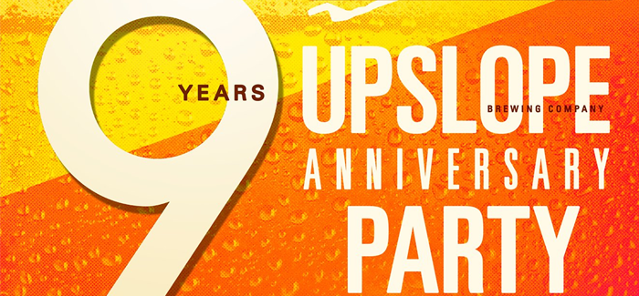 Upslope Brewing Announces 50+ Beers for 9th Anniversary Party Pour List