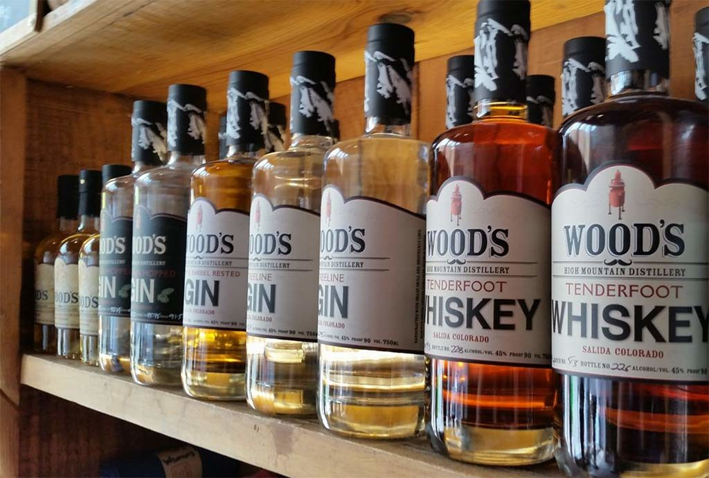 Salida Chaffee County Colorado Wood's High Mountain Distillery, LLC.
